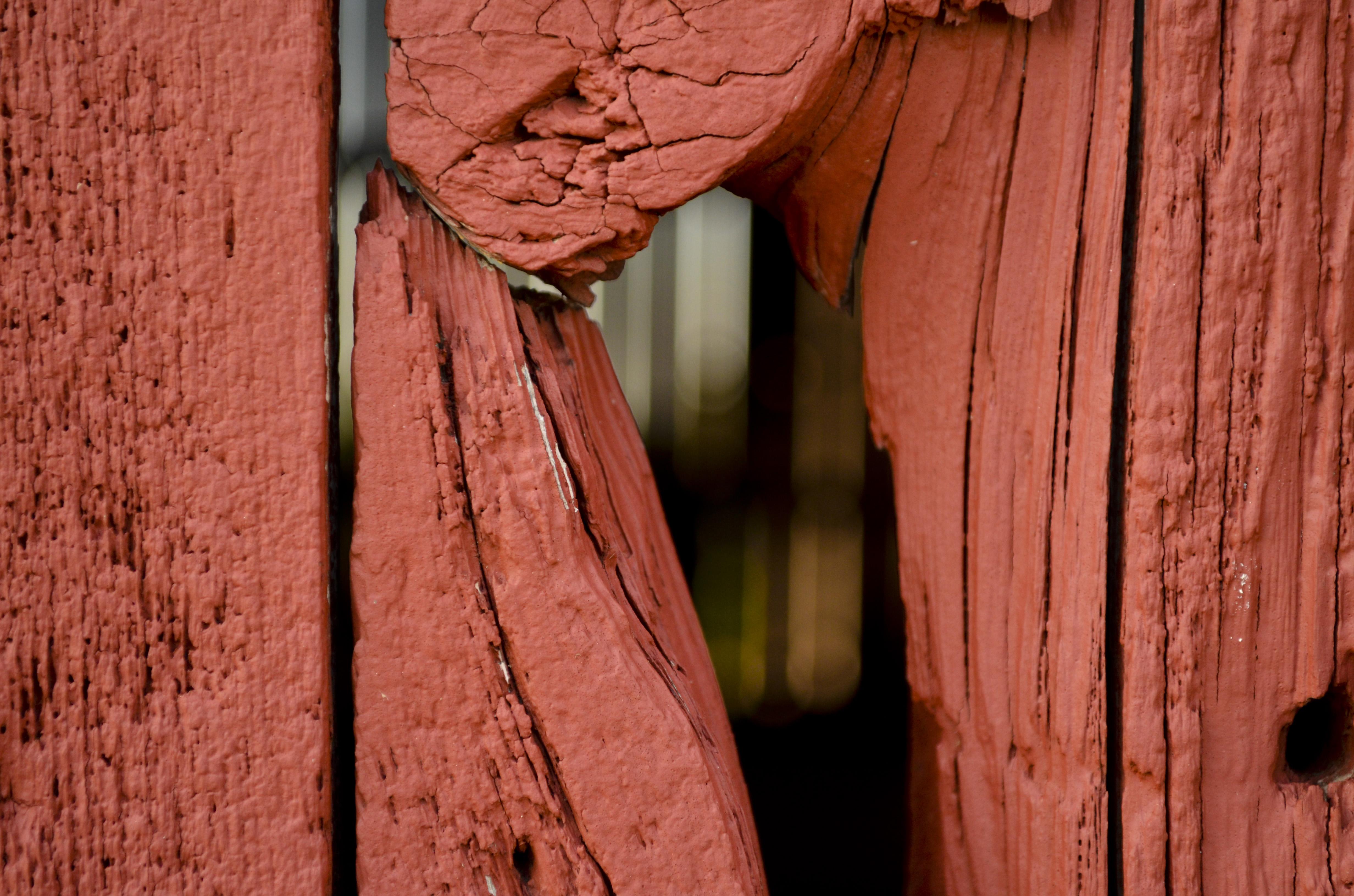 Open red barn doors - Nikon D5100 Edited In Camera Raw